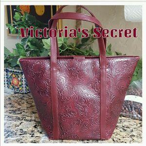 VS Vegan Embossed Leather Purse Hand Bag